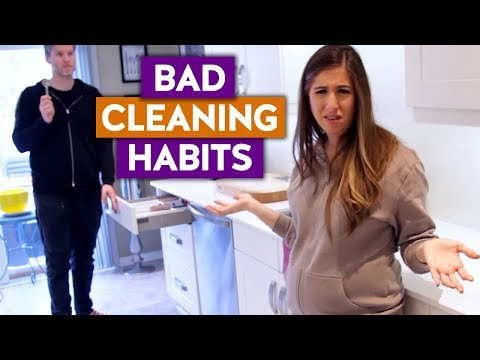 Our BAD CLEANING HABITS Revealed!