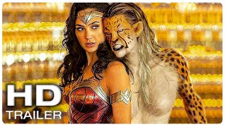 WONDER WOMAN 1984 Cheetah Trailer (NEW 2020) Wonder Woman 2, Gal Gadot Superhero Movie HD