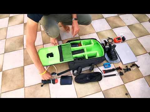 Recensione zaino modulare Estarer Amazon per DSLR, drone, GoPro