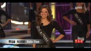 Swimsuit | Gown | Talent | On-stage Question | Crowning: Miss America 2009 Katie Stam