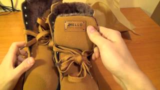 Зимние ботинки с сайта aliexpress за 39$(В принципе очень спорно! Вроде бы и качественная обувь но мне кажется они могли бы быть дешевле. А так все..., 2014-01-15T09:30:02.000Z)