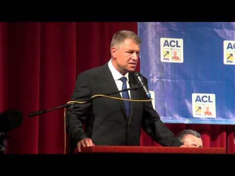 Discursul lui Klaus Iohannis la Pitesti, 20 august 2014