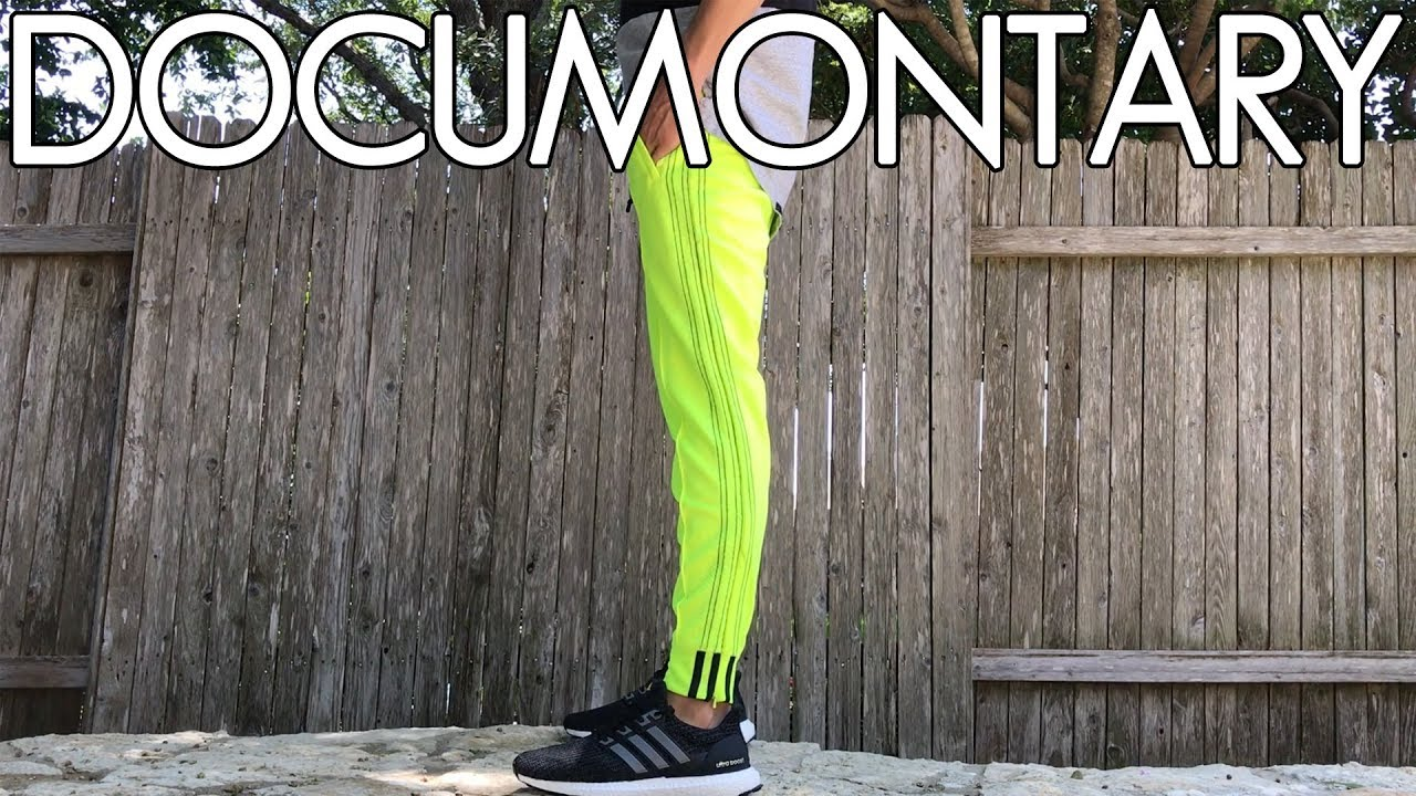 adidas wang pants green