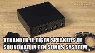 Sonos Port: Maak een Sonos Systeem van elke Stereo-Set of Soundbar!