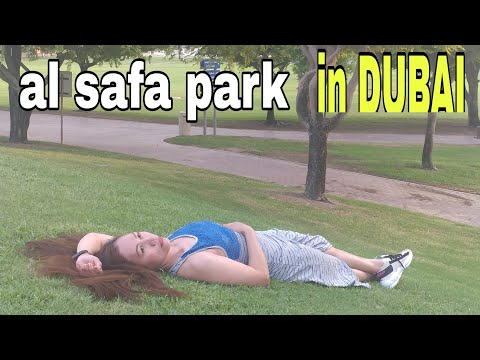 Al Safa Park in DUBAI UAE/rainvlogs77