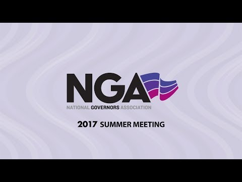 NGA 2017 SUMMER MEETING — Press Conference with Prime Minister of Canada Justin Trudeau