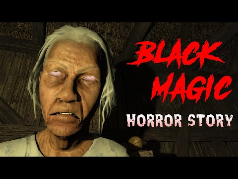 BLACK MAGIC | Horror Story In Hindi |(Animated) | Hindi Cartoon | Horror Animation Hindi TV