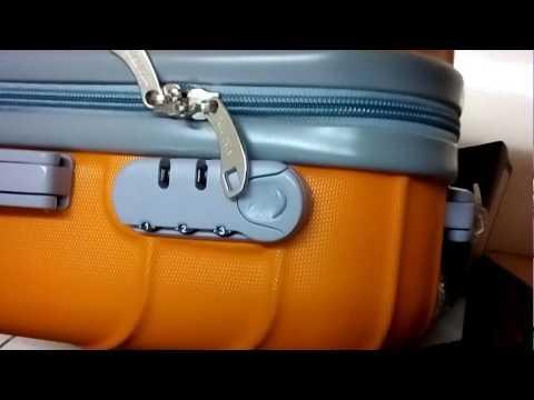 Cara meriset kode kunci kombinasi koper