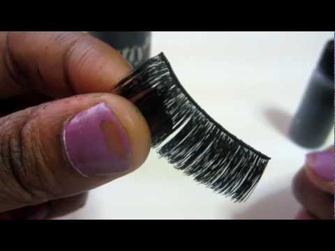 HOW TO CLEAN FALSE LASHES AND MAKE THEM LAST MONTHS