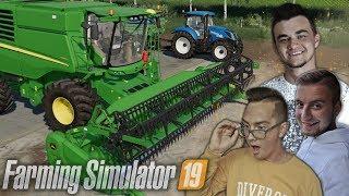 "Nowy kombajn [ John Deere T560 ] ✔ Farming Simulator 19 MP ""od Zera do Farmera"" #28 ✔ MafiaSolecTeam"