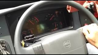VRL Volvo 9400PX B11R reaches 100 kmph at around only 1340 rpm