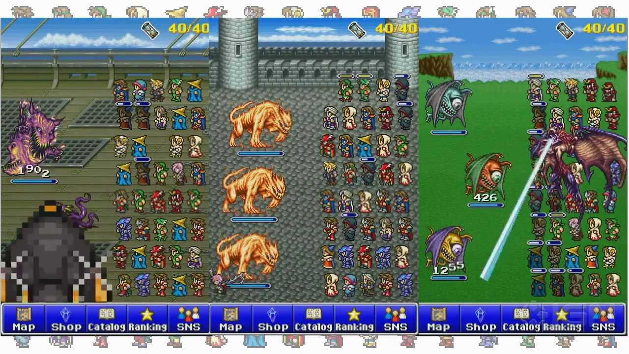 Resultado de imagen para Final Fantasy All the Bravest
