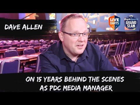 Dave Allen on 15 years behind the scenes as PDC Media Manager