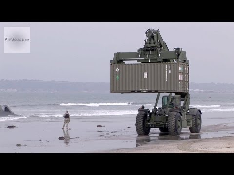 U.S. Marine Kalmar RT240 Rough Terrain Container Handler
