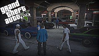 "GTA 5 Car Meet ""Crown Vic Boyz"" #7"