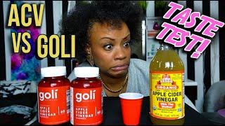 ACV VS. GOLI GUMMY Taste Test | Apple Cider Vinegar Gummies? | Goli Gummy Review