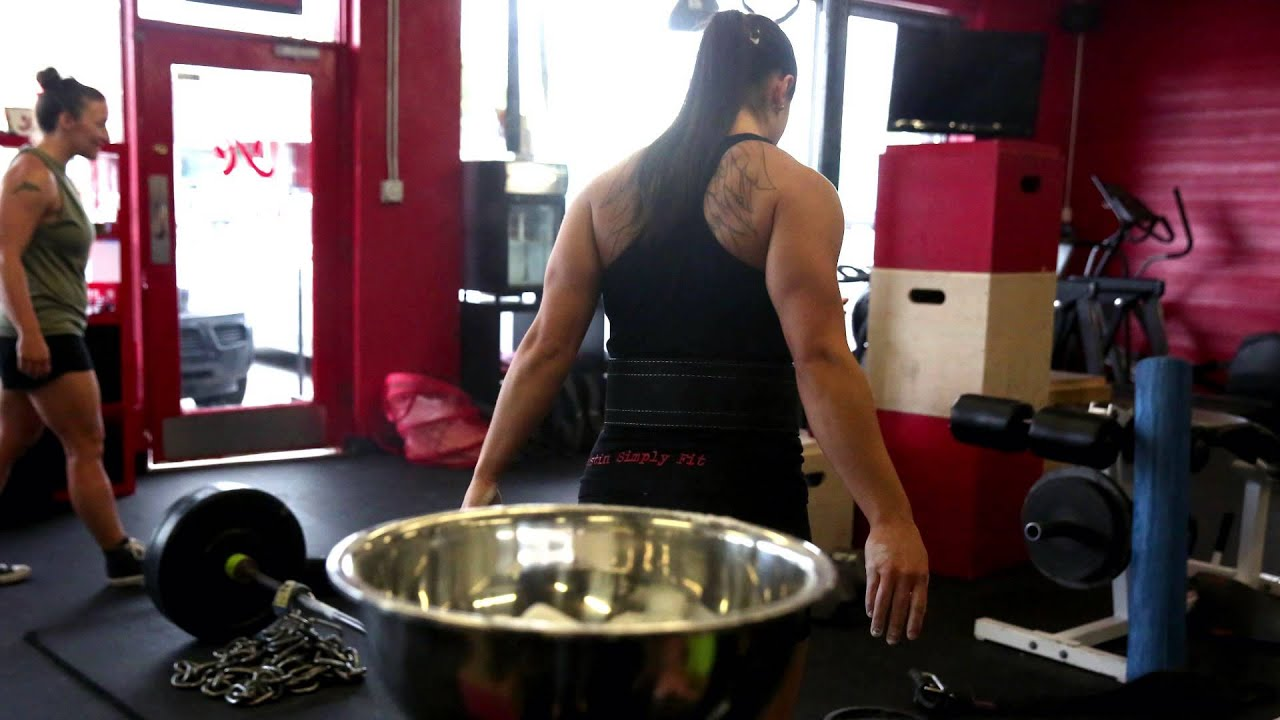 Female Powerlifters Youtube