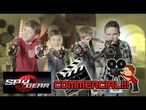 Evan Shoots a SPY GEAR COMMERCIAL - Special Behind-the-Scenes!!!