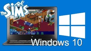 How to get The Sims 1 working in Windows 10 (UPDATED VIDEO!)