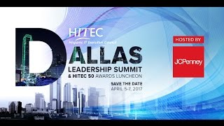 Save The Date - HITEC 2017 Dallas Leadership Summit, April 5-7, 2017