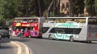 "Bus turistici, Federalberghi:""Inquinano meno dei bus Atac"""