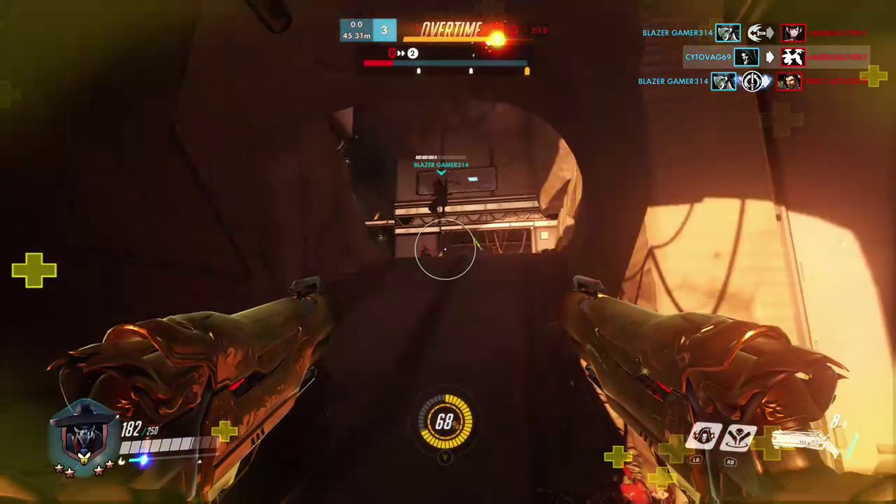 Reaper Wraith Form Bug Overwatch - YouTube