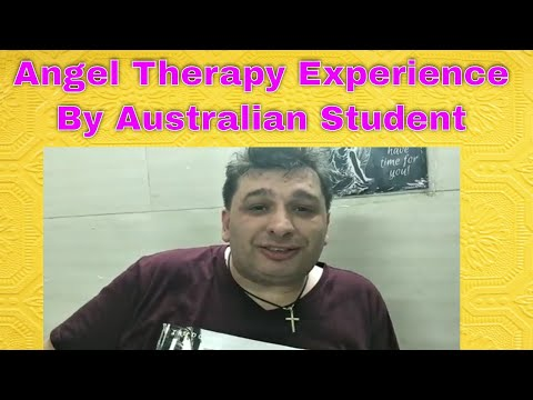 Angel therapy experience our student come from Australia.. Angel therapy in Sydney Australia