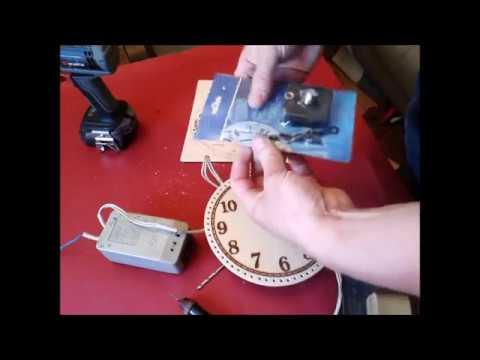 Часы, часть1, циферблат