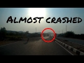 close call | Almost crashed | Bad indian roads | Fossil rides