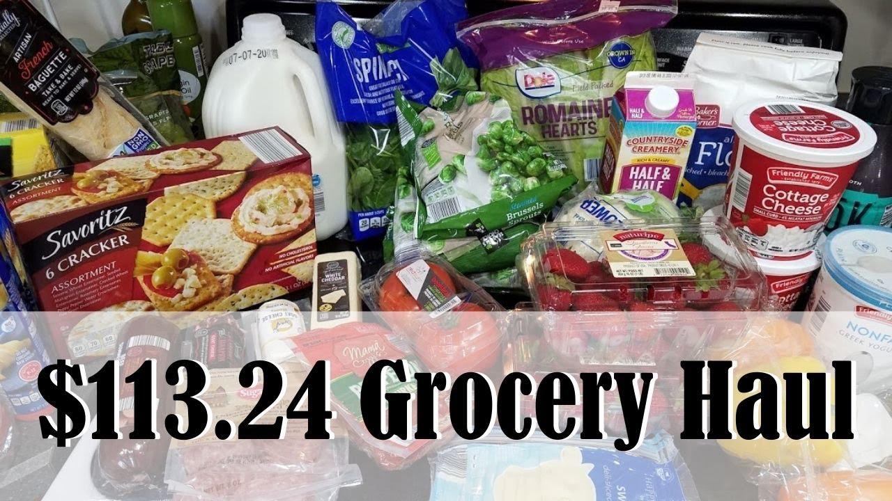 HUGE ALDI HAUL! || $113.24 HEALTHY GROCERY HAUL