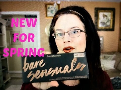 NEW FOR SPRING! Bare Minerals Bare Sensuals Eye Shadow Palette Review, Tutorial and Swatches thumbnail