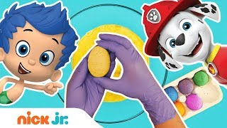 More Surprise Egg Bath Bomb Fizzers w/ Toys! 🥚 PAW Patrol, Bubble Guppies & More! | Nick Jr. Video