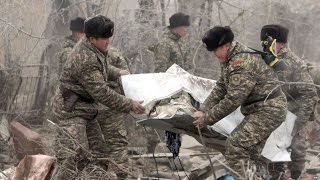 Первые часы после авиакатастрофы под Бишкеком(Катастрофа