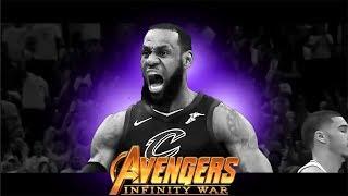 AVENGERS INFINITY WAR TRAILER - NBA FINALS 2018 ᴴᴰ