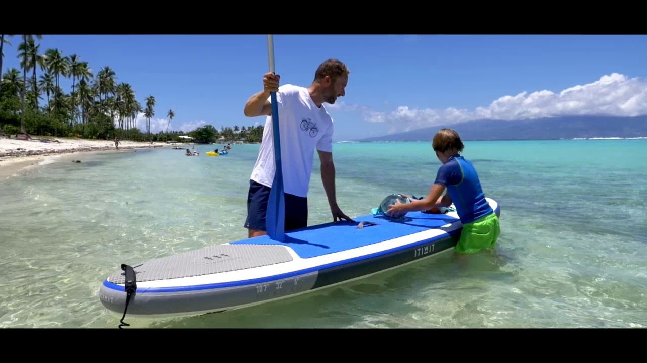 1a9bd56e8 Prancha de stand up paddle inflável 107 Itwit - Exclusividade ...