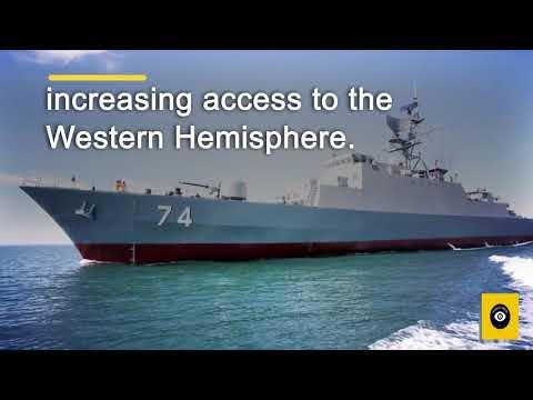 Iranian naval fleet enters Atlantic Ocean   Iran navy