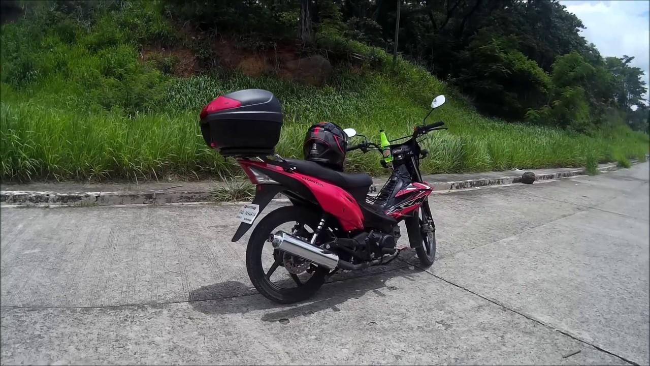 Honda xrm 125 motard touring setup
