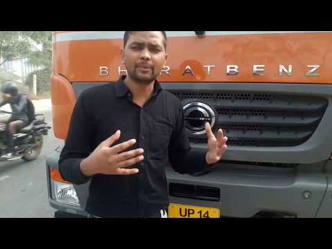 Bharat Benz, 3123 Bs3 With Full  Engine View