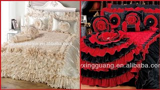 Top Class Designer Bedsheet Designs//Royal Bedsheets//Bridal Bed Sheets Collection