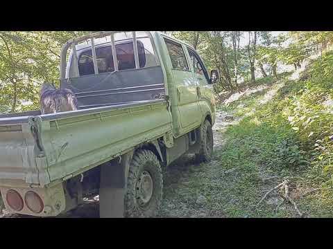 сафари 510 тест на киа бонго. Оффроад Киа бонго 3 по лесу. Часть 2