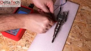 Test Wtryskiwacza Siemens Vdo Piezo 10181010 Bmw Nr 7589048 Testerem Sit-12