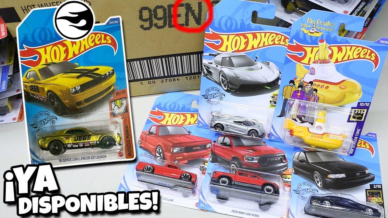 Me llego todo lo nuevo - Hot Wheels Caja / Case N 2020 Challenger SRT, McLaren P1, Senna, Speedtail