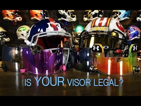When Are Tinted Visors Legal For Football?
