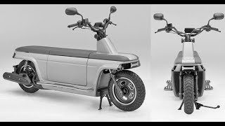 HONDA MOTOCOMPO SCOOTER 2017