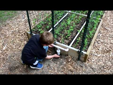 PVC Irrigation For Raised Bed Gardens