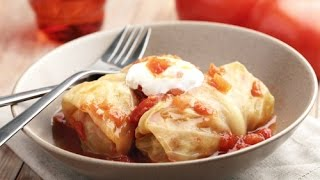 Голубцы - Рецепт вкусных голубцов по-домашнему / Cabbage Roll Recipe