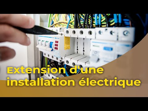 Bricolage Maison  LExtension DUne Installation lectrique  Youtube