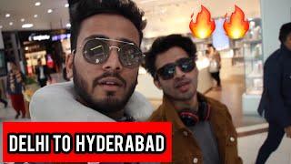 Delhi to Hyderabad with round2hell- elvish yadav