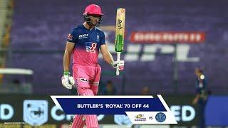 Buttler's Royal 70 (44) Against Mumbai Indians