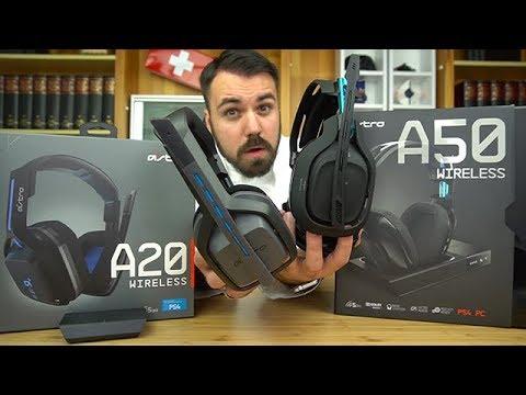 Nachteile für die PS4 Besitzer? ASTRO A20 vs ASTRO A50 - Dr. UnboxKing - Deutsch